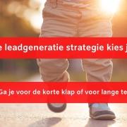 Leadgeneratie aanpak